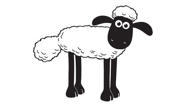 Picture-of-Shaun-the-Sheep-Coloring-Page