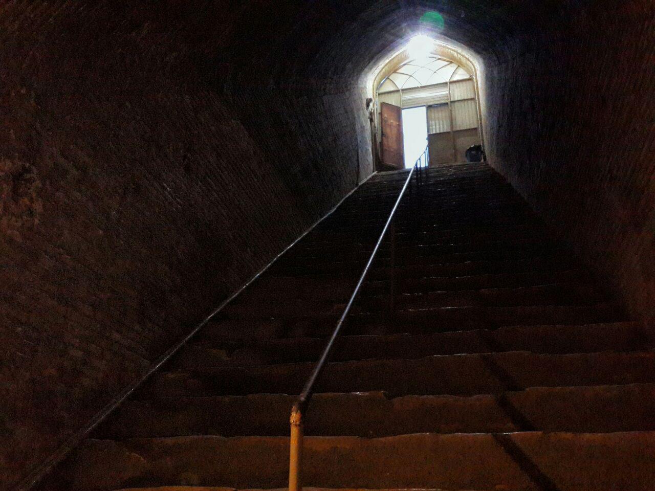 راه پله های آب انبار